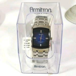 Mens armitron watch nwb